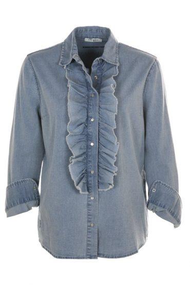 FUNKY STAFF Blouse Bridget Light Jeans