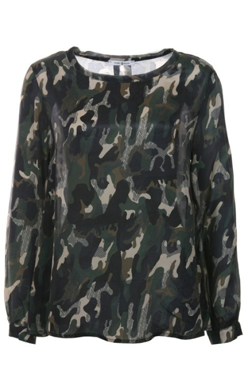 Funky Staff Blouse Marissa Camouflage