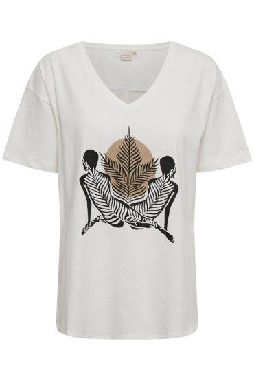 Cream CRLuna OZ Tshirt