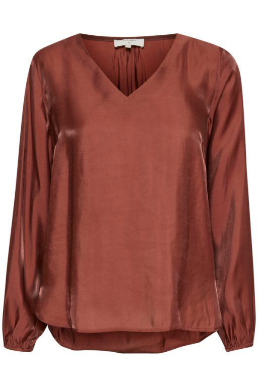 Cream CRSally LS blouse