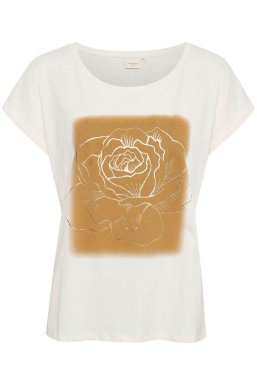 Cream crivana-t-shirt