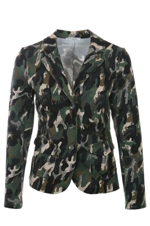 Funky Staff Jacket Berlin Camouflage