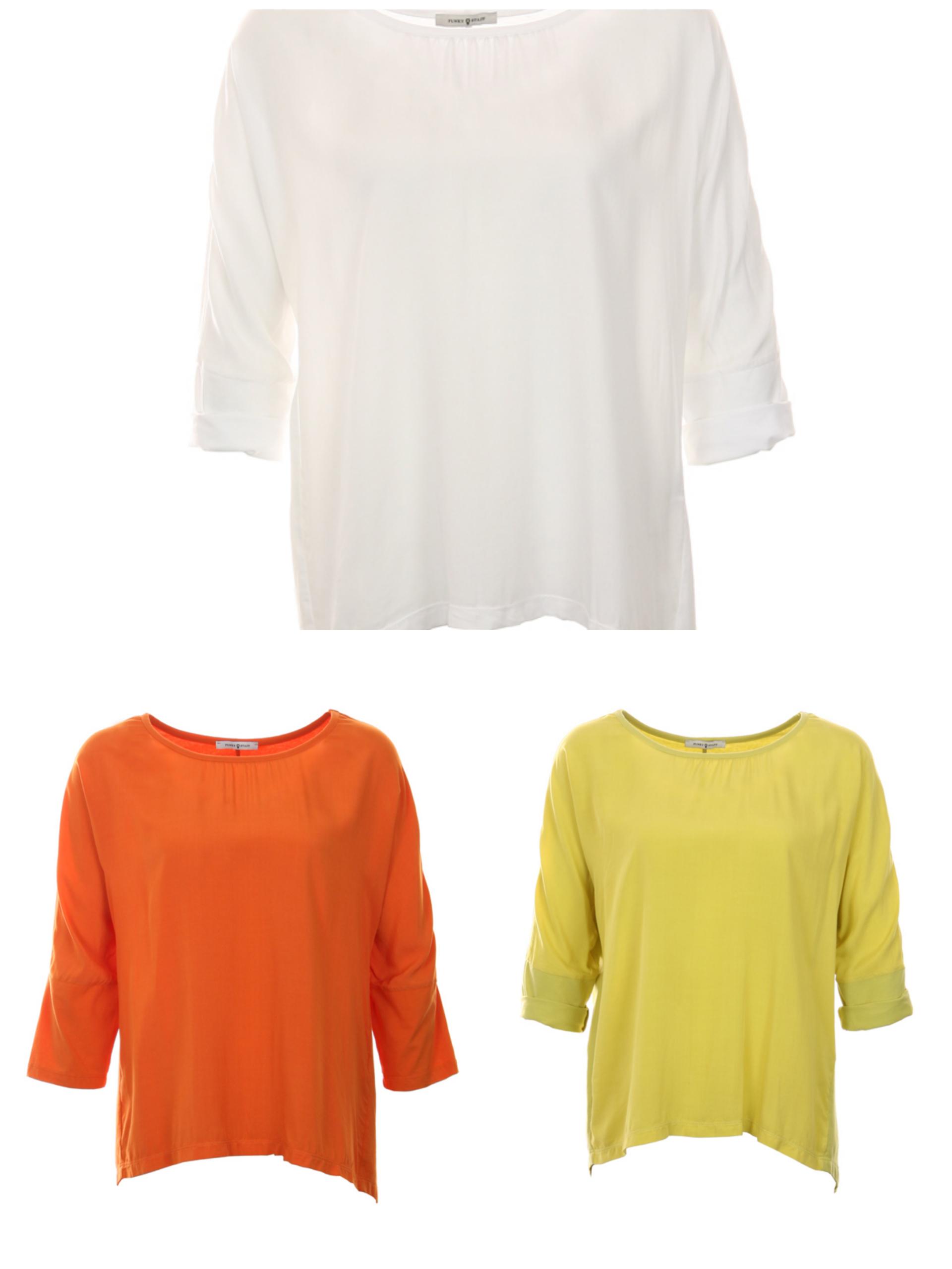 FUNKY STAFF Shirt Paula gelb