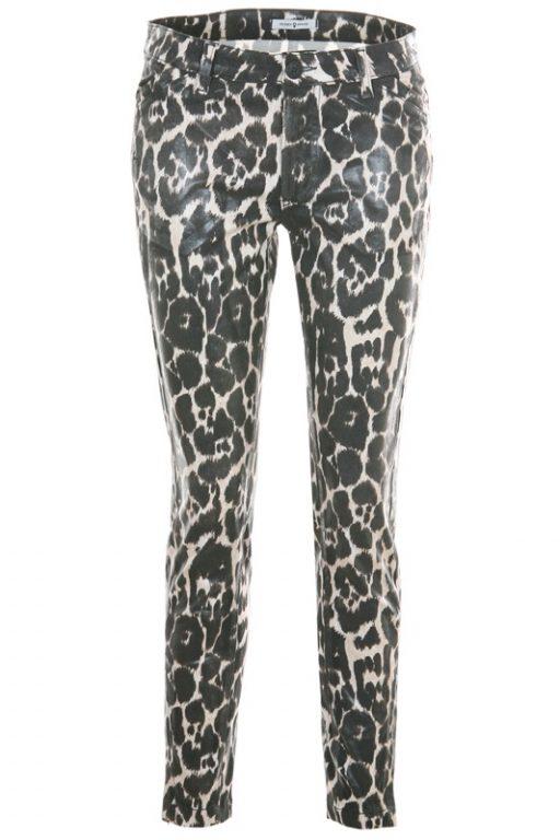 FUNKY STUFF Trousers Rock Leopard