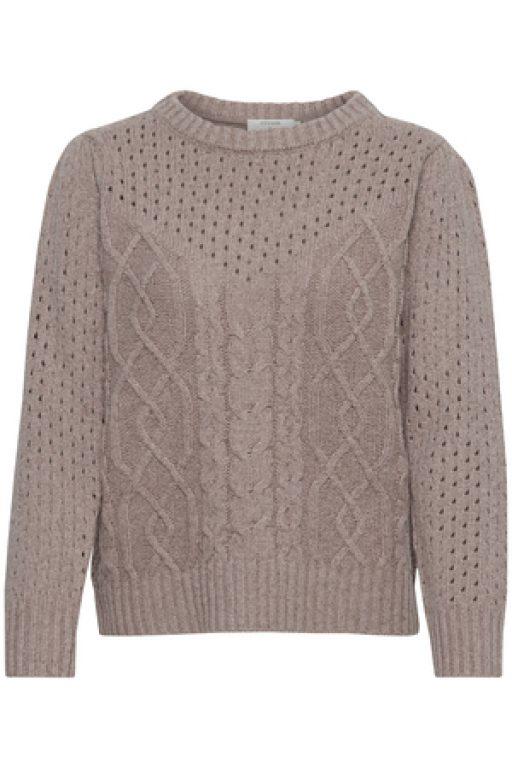 Cream MadlinCR Knit Pullover