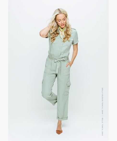 Red Button Belle Trousers Tencel