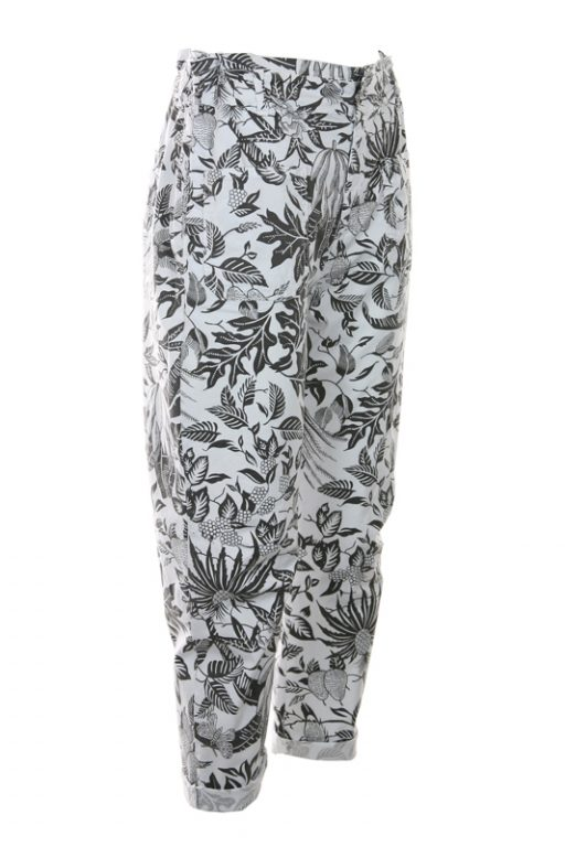 FUNKY STAFF Trousers Ruby Tropical